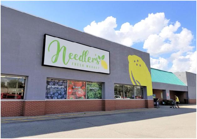 Needlers Fresh Market Plaza, Hartford City, Indiana